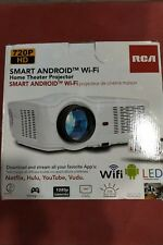 RCA RPJ129 Smart Wi-Fi LED Home Theater Projector