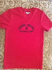 Guess Donna Rosso Polo Sport T Shirt: L