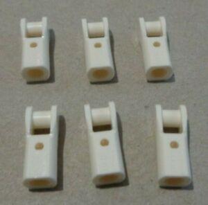 LEGO TECHNIC 6322489 - 23443 Shaft Holder W Bar White x6 Parts & Pieces**