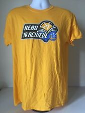 "Golden State Warriors T-Shirt Men's  ""Read To Achieve"" Ross Stores Medium"