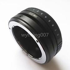 Tilt Olympus OM Lens To Fujifilm Fuji FX X-PRO1 adapter X-E1 X-E2 X-A1 X-T1 X-M1