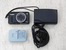 Canon PowerShot SX260 HS 12.1MP 20x zoom Digital Camera - Black