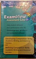 Examview Refining Comp Skills 6th edition & Develop Comp Skills 3rd edition CD