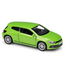 Welly 1:36 Volkswagen Scirocco Green Diecast Model Car