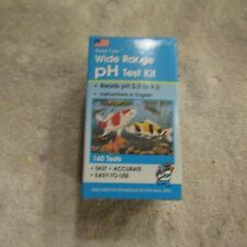 API 160 Pond Care Wide Range PH Test Kit Reads pH 5.0 to 9.0 160 Tests NOS