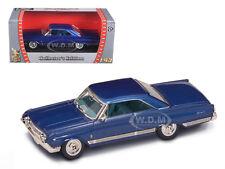 1964 MERCURY MARAUDER BLUE 1/43 DIECAST CAR MODEL BY ROAD SIGNATURE 94250