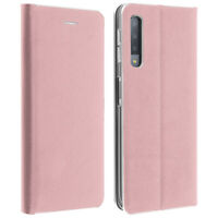 Slim Case, flip book cover, stand wallet case for Samsung Galaxy A7 2018 - Pink
