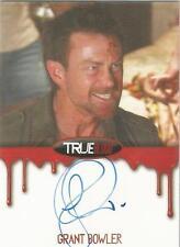 """True Blood Premiere - Grant Bowler """"Cooter"""" Auto/Autograph Card"""