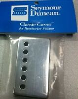 Seymour Duncan Classic Cover Nickel Silver Humbucker Pickup Cover - Brand New!