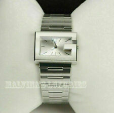 GUCCI WATCH YA100520 STAINLESS STEEL 100 G-COLLECTION SILVER DIAL $1,150