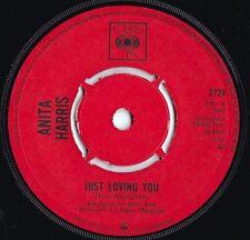 Anita Harris ORIG UK 45 Just loving you EX 1967 CBS 2724 Pop Soul