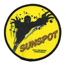 X-MEN SUNSPOT MARVEL COMICS CLOTH PATCH NEW & UNUSED OLD STORE STOCK