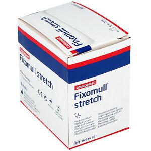 Leukoplast Fixomull stretch | 5cm x 10m | Klebevlies | Fixierung Verband