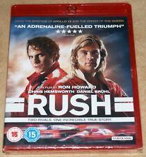 Rush Blu Ray Chris Hemsworth Region B NEW & SEALED