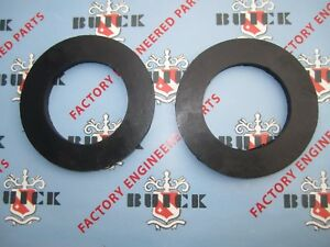 1939-1953 Buick Front Coil Spring Insulators. Pair