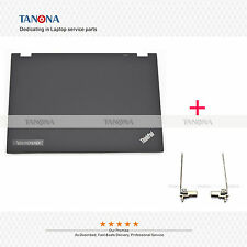 New 04X0438 for Lenovo Thinkpad T430 T430I Top LCD Rear Back Cover Lid + hinges