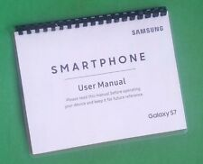 Samsung Galaxy S7 For AT&T 199 Page Owners Manual Laser 8.5X11""