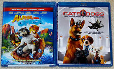 Kid / Family Blu-ray Lot - Alpha and Omega (New) Cats & Dogs (New)