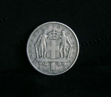 1 Drachma 1966 Greece Copper Nickel World Coin Constantine II KM89 Greek