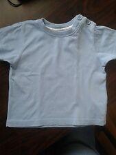 süßes Baby T-shirt babyblau 74  :)