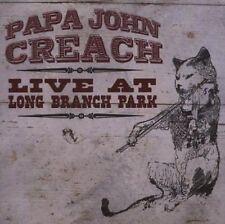 Papa John Creach Live At Long Branch Park 2-CD NEW Jefferson Airplane/Starship