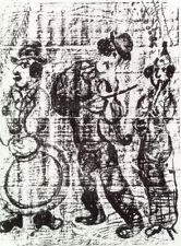 Marc Chagall - The Wandering Musicians, 1963 (M.396) - Original Lithograph