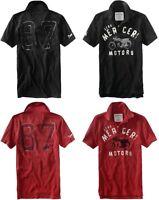 Aeropostale mens AERO LOGO POLO T shirt  XS,S,M,L,XL,2X