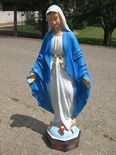 Heiligenfigur Madonna Mutter Gottes 115 cm hoch Statue Gartenfigur Figur Neu