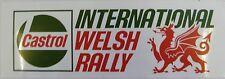 Castrol International Welsh Rally Motorsport Sticker / Decal