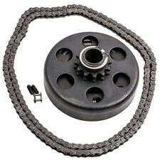 """Centrifugal Clutch 3/4"""" Shaft Bore 12 Tooth #35 Chain Screw Sets for Go Kart"""