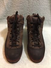 Patagonia Men's  Made In Italy Brown Laether Suede  Boots Size 8