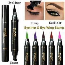 Double Head Liquid Eyeliner Pen Eyeliner Pencil Schwarzes wasserfestes Makeup DE