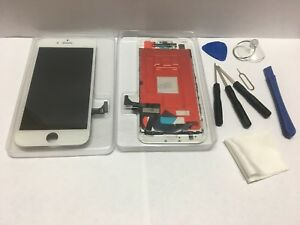 iPhone 7 WHITE Color  LCD  Touch Screen  Digitizer Assembly 3D TOUCH +TOOL