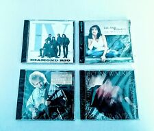 Assorted Country Artist Lot of (4) Brand New Factory Sealed Diamond Rio Etc.