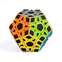Zauberwürfel MoYu Megaminx 3x3 carbon speedcube magic cube brandneu