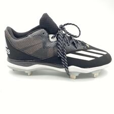 Adidas Dual Threat 2 Mens Baseball Cleats Black Lace Up Shoes F37751 11 New