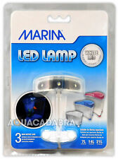 MARINA LED SPOTLIGHT 3-LED LIGHT COOL GOLDFISH KIT AQUARIUM FOR SMALL FISH TANKS
