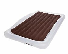 Shrunks Tuckaire Twin Inflatable Air Mattress, Airbed with Security Rails & Pump