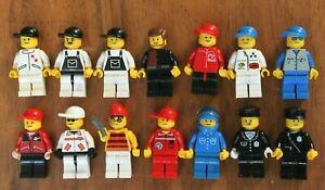 1x LEGO Minifig Mini figures VINTAGE Policeman Space Pirate Gardener