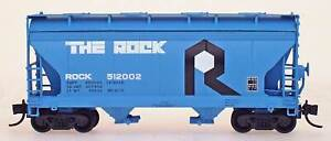 InterMountain-N THE ROCK  ACF 2-Bay Covered Hopper Cars (66512) Assorted) NIB