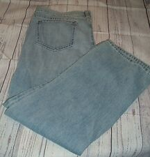 Old Navy Women's Distressed Destroyed Womens Blue Jeans 16R  38 X 30