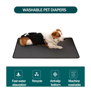 Washable Reusable Pet Dog Pee Pad Quick Dry Puppy Cat Training Wee Potty Mat Pad