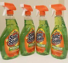 4 Spic and Span Antibacterial Spray Cleaner Kills Bacteria & Viruses 22oz