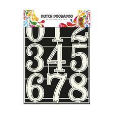 Dutch Doobadoo MASCHERA STENCIL-A4 NUMERI 2 # 715805