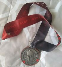 2019 Spartan Race Sprint Finisher Medal with Trifecta Wedge