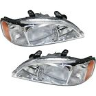 Headlights Headlamps Left & Right Pair Set NEW for 99-01 Acura TL
