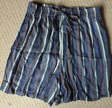 Vintage Sussan Ladies Striped Shorts Size L