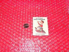 vintage Little Jack Horner Mother Goose  miniature paper book