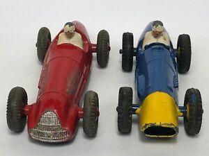 Racing Cars Alfa Romeo Model 23F Year 1952 & Blue Ferrari Model 23H Year 1953