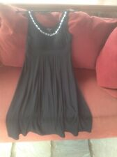 Alesia Black Embellished Dress US size 8  (UK 12) Excellent Condition Worn Once.